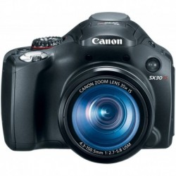 Camara Canon SX30IS 14.1MP Digital Camera 35x Wide Angle Optical Image Stabilized Zoom and 2.7 Inch LCD OLD MODEL