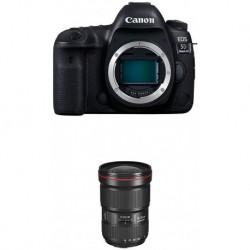 Camara Canon EOS 5D Mark IV Full Frame Digital SLR Camera Body EF 16-35mm f/2.8L III USM Lens