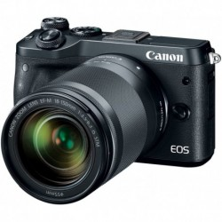 Camara Canon EOS M6 Black 18-150mm f/3.5-6.3 IS STM Kit