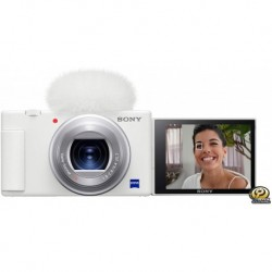 Camara DC Sony ZV-1 Camera for Content Creators and Vloggers White Compact DCZV1/W