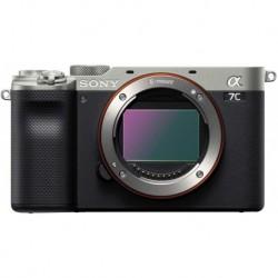 Camara Sony Alpha 7C Full-Frame Mirrorless Camera Silver ILCE7C/S