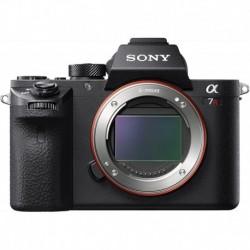 Camara Sony a7R II Full-Frame Mirrorless Interchangeable Lens Camera Body Only Black ILCE7RM2/B Base Base