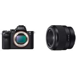 Camara Sony Alpha a7II Mirrorless Digital Camera Body 50mm F1.8 Lens
