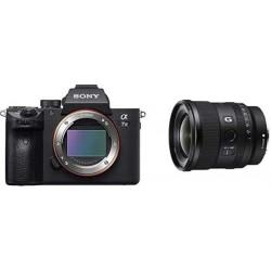 Camara Sony a7 III ILCE7M3/B Full-Frame Mirrorless Interchangeable-Lens Camera 3-Inch LCD Black 20mm F1.8 Lens