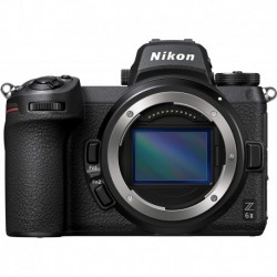 Camara Nikon Z 6II FX-Format Mirrorless Camera Body Black