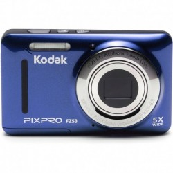 "Camara Kodak FZ53-BL Point and Shoot Digital Camera 2.7"" LCD Blue"