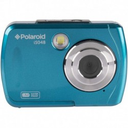 Camara Polaroid IS048 Waterproof Instant Sharing 16 MP Digital Portable Handheld Action Camera Teal