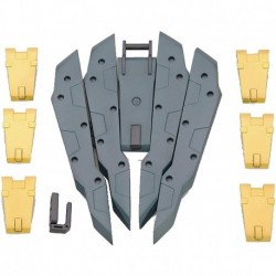 Figura Kotobukiya Modeling Support Goods Weapon Unit 19 Freestyle Shield Model Kit Accessory Multicolor