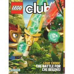 LEGO Club Magazine January 2013/February 2013 Chima The Battle For Chi Begins!