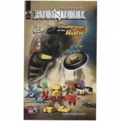 LEGO Kids Meal Toys The Legend of Bionicle Challenge Rahi Booklet 2001