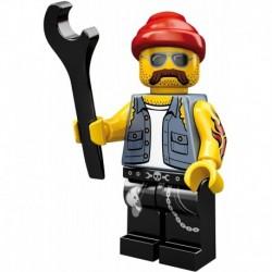 LEGO Minifigures Series 10 Motorcycle Mechanic