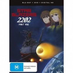 Star Blazers Space Battleship Yamato 2202- Part One Blu-ray