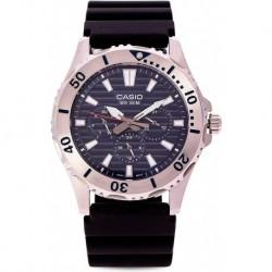 Reloj Hombre Casio MTD1086-1AV Resin B Multifunction B 60520 (Importación USA)