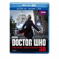 Doctor Who Dark Water/Death in Heaven 3D BD 3D / BD / DVD Blu-ray