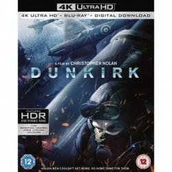 Dunkirk 4K UHD Digital Download Blu-ray 2017 Region Free