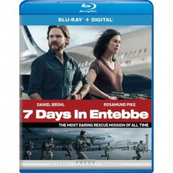 7 Days in Entebbe Blu-ray