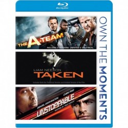 The A-Team/Taken/Unstoppable Blu-ray