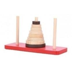 Torre De Hanoi Juguetes De Madera Didácticos Mayoristas (Entrega Inmediata)