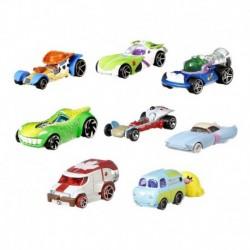 Colección X8 Hot Wheels Toy Story 4 Vehículo Caracterizado (Entrega Inmediata)