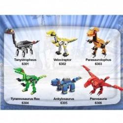 Bloques Construcción Dinosaurios Wange Huevo Bloques 6301 (Entrega Inmediata)