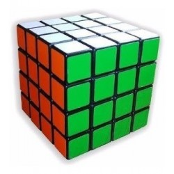 Cubo De Rubik Shengshou (4x4)-base Negra Juego Mental 7144a (Entrega Inmediata)