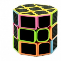 Cubo 3x3x3 Cilindro Octogonal Fibra De Carbono Ref. 8927 (Entrega Inmediata)