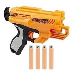 Nerf E0012 Accustrike Quadrant Elite N-strike Pistola Hasb (Entrega Inmediata)