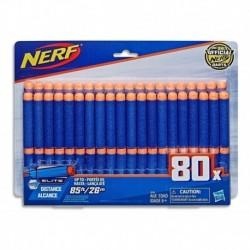 Repuesto Dardos Nerf Elite Hasta 26m X80 Hasbro E6105 (Entrega Inmediata)