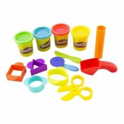 Play Doh Primeras Creaciones Plastilina 4 Latas Hasbro B1169 (Entrega Inmediata)