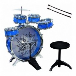 Batería Musical 5 Tambores Infantil Percusión 28832 Juguetes (Entrega Inmediata)