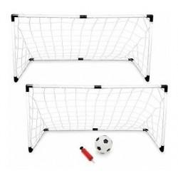 Set De Fútbol 2 Porterías + Balón + Inflador Ref. 210d (Entrega Inmediata)