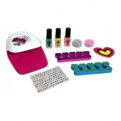 Set De Esmaltes Para Uñas Con Secador Niñas Belleza Mbk-326 (Entrega Inmediata)