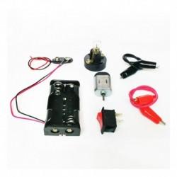Juego De Accesorios X8pcs Motor Bombillo Para Maquetas (Entrega Inmediata)