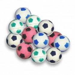 Set De 12 Pelotas Locas 2.5cm Balón Fútbol Colores Surtidos (Entrega Inmediata)