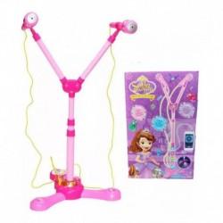 Micrófono Princesa Sofia Juguete Para Niña + Obsequio (Entrega Inmediata)