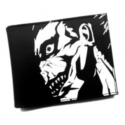 Billetera Dc Comics Death Note 22x9 Cm Aprox (goma) (Entrega Inmediata)