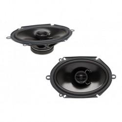 Parlantes Para Carro Powerbass S-6802 Coaxial 6x8 180 Watt (Entrega Inmediata)
