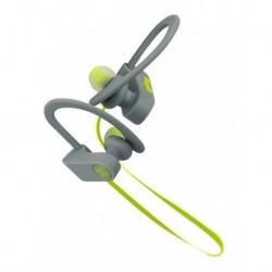 Audífonos Klip Xtreme Deportivos Khs-632bl Gris-verde (Entrega Inmediata)