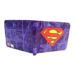 Dc Comics Superman Billetera Azul (Entrega Inmediata)