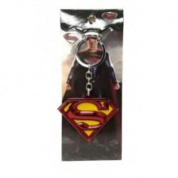 Dc Superman El Hombre De Acero Llavero Metálico (Entrega Inmediata)