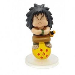 Dragon Ball Z Yajirobe Sobre Esfera Figura En Bolsa (Entrega Inmediata)