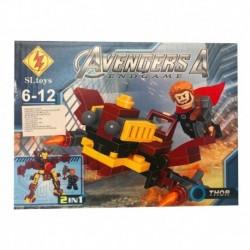 Fichas Para Armar Super Heroes Niños (Entrega Inmediata)