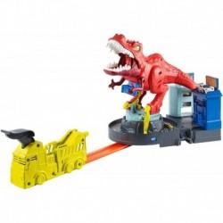 Pista Hot Wheels City T-rex Demoledor Mattel Gfh88 (Entrega Inmediata)