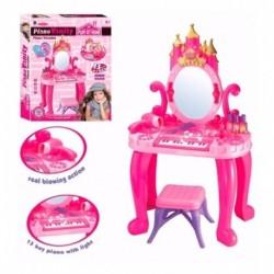 Tocador Piano Musical Para Princesas Con Silla Y Accesorios (Entrega Inmediata)