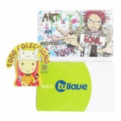 Personaliza Tarjeta Trasporte Sticker Anime Fairy Tail No.2 (Entrega Inmediata)