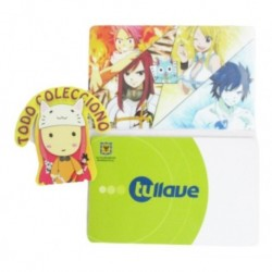 Personaliza Tarjeta Trasporte Sticker Anime Fairy Tail No.3 (Entrega Inmediata)