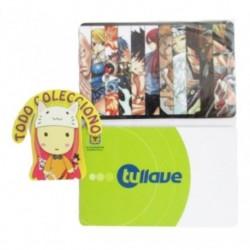 Personaliza Tarjeta Trasporte Sticker Anime Fairy Tail No.4 (Entrega Inmediata)
