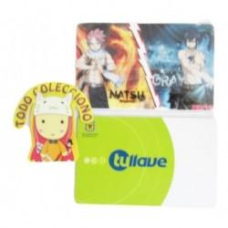 Personaliza Tarjeta Trasporte Sticker Anime Fairy Tail No.6 (Entrega Inmediata)