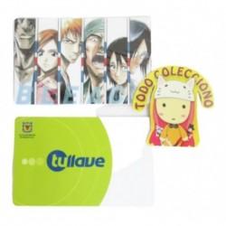 Personaliza Tarjeta Trasporte Sticker Anime Bleach No.2 (Entrega Inmediata)