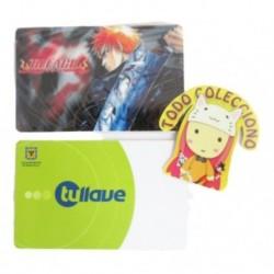Personaliza Tarjeta Trasporte Sticker Anime Bleach No.8 (Entrega Inmediata)